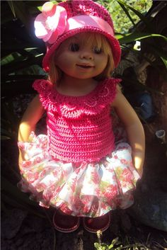 Beautiful doll by Rosemarie Anna Muller
