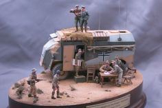 North African Campaign, Military Diorama, Plastic Models, Scale Models, Vignettes, Panther, Wwii, Army, Ideas
