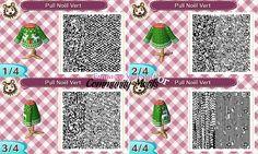 Christmas sweater Animal Crossing QR codes