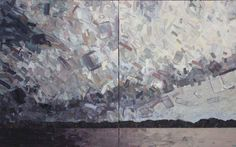 <strong>Big Storm Lake</strong><br> <strong>Medium:</strong> oil on canvas<br> <strong>Size:</strong> 30 x 48<br> <strong>Price:</strong>  $4600<br>