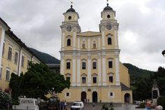 Cathedral in Mondsee(Where Sound of Music Wedding was filmed).