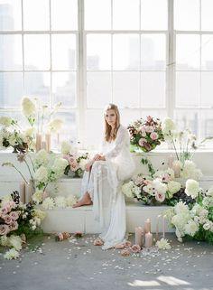 Moody Gray Inspiration Shoot   Grey Likes Weddings   Bloglovin'