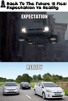 Back To The Future : Expectation Vs Reality ! (11 Pics)