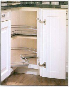 lazy susan cabinets