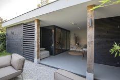 Pergola Canopy, Pergola Patio, Backyard, Back Garden Design, Outdoor Buildings, House Extension Design, Rustic Living Room Furniture, Garden Architecture, Covered Pergola