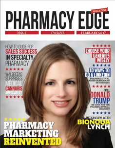 We did it!! Our ONE year anniversary of Pharmacy Edge Magazine is now out. Issue 12 cover with Nicolle McClure.   http://joinappa.com/pharmacy-edge-magazine/