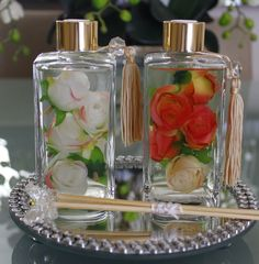Home Spray, Diy And Crafts, Arts And Crafts, Antique Perfume Bottles, Witch House, Soap Packaging, Romantic Homes, Liquid Soap, Air Freshener