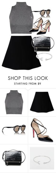 """""""Untitled #3613"""" by olivia-mr ❤ liked on Polyvore featuring WearAll, RED Valentino, Tom Ford, Christian Louboutin, Givenchy and ASOS"""