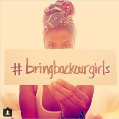 Women support 'Bring Back Our Girls' campaign on Instagram