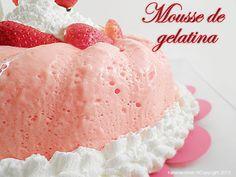 Mousse de gelatina