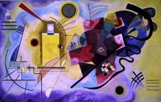 Wassily Kandinsky - yellow, red, blue. will always hang somewhere on my wall.