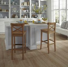 Rio Cherry 20220 luxury vinyl plank flooring from the Moduleo Vision by IVC US