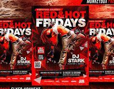 "Check out new work on my @Behance portfolio: ""Red&Hot Fridays Flyer Konnekt"" http://on.be.net/1j2AqIt"
