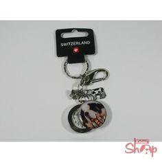 St.Bernard Krumi Schlüsselring mit Uhr
