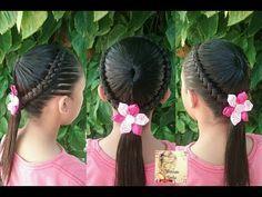 Peinados para niñas la maya y coletas|Peinados fáciles y rápidos para niñas|LPH - YouTube Cute Hairstyles, Diana, Hair Care, Braids, Hair Styles, Youtube, Fashion, Girls Braids, Hair And Beauty