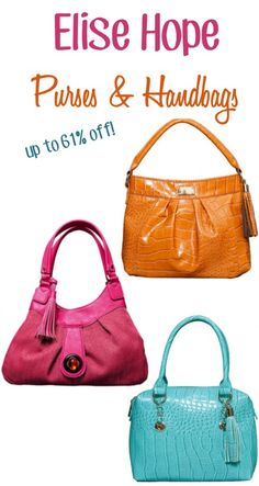 593d029e2386 Elise Hope Purses and Handbags ~ up to 61% off!  purses Best Handbags