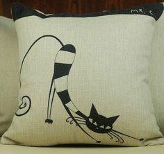 http://www.etsy.com/listing/150956717/linen-pillow-cover-word-housewares-cat