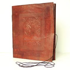 Large Tree of Life Leather Journal