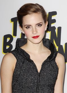Emma Watson in Chanel at The Bling Ring LA premiere