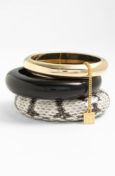 AK Anne Klein 'Presidio' Bangles (Set of 3) available at Nordstrom
