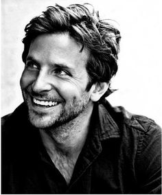 bradley cooper. Never underestimate the power of a true smile