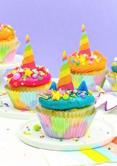 DIY Unicorn Cupcake