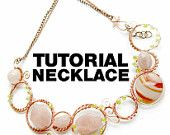 Tutorial wire wrapping copper necklace