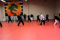USSD First Friday workout    United Studios of self defense self defense martial arts www.USSD.com