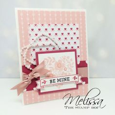 Love Blossoms designer series paper, embellishment kit, and Bloomin' Love stamp set
