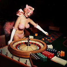 Las Vegas showgirl c. 1950's