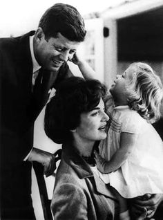 JFK, Jackie, and Caroline