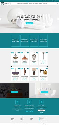 Lighting & Electricity Online Store #Shopify #template. #themes #business #responsive #webshop #Shopifythemes