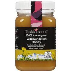 Certified Organic Dandelion Honey 17.60 Ounces: Amazon.com: Grocery & Gourmet Food  One of Farmgirls  favorite organic honeys.