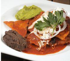 Chilaquiles en salsa guajillo | Cocina y Comparte | Recetas de @Pilar Cabrera de @Oaxaca en @cocina al natural