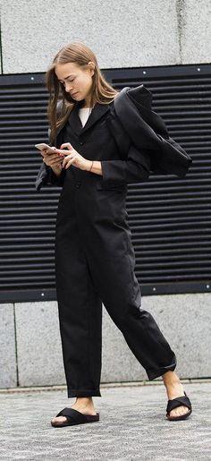 Nadiia Shapoval in Céline shoes