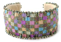 A Word From Claudia: New Beaded Tapestry Cuff Bracelet Kit