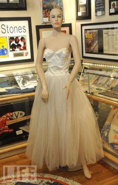 """Marilyn's famous Anne Klein ballerina dress from Milton Greene's photographs, """"The Ballerina Sitting""""."""