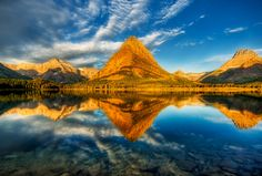 A Perfect Morning, Glacier National Park by Trey Ratcliff