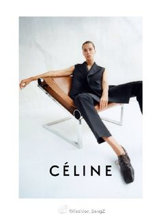 Céline Spring Summer 2015 Ad Campaign | Art8amby's Blog