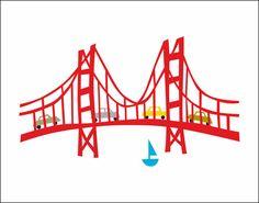 Golden Gate Bridge Print r. nichols