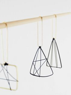 DIY wire Christmas ornaments