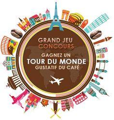 Gagnez 1 tour du monde gustatif du café !
