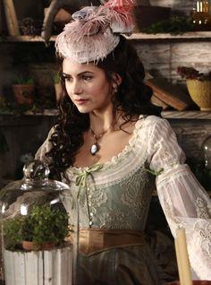 Nina Dobrev as Katherine Pierce in The Vampire Diaries (2010).