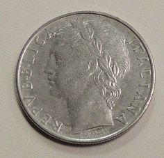 Italian-Coin-100-Lira-Key-Date-1960-R