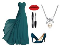 """""""Untitled #5"""" by tenuunl ❤ liked on Polyvore featuring Nine West, Lancôme and MBLife.com"""