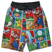 Super Mario Character Swim Trunks for Boys Billabong, Beach Boys, Tommy Hilfiger, Free To Use Images, Boys Swimwear, Ralph Lauren, Swim Trunks, Super Mario, High Quality Images