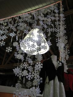 So amazing! I'm making curtains of these for the Christmas party!