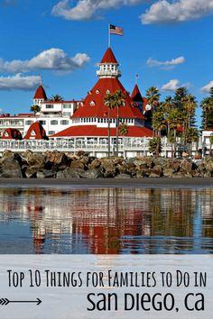Top 10 Things for Families to do in San Diego #trekarooing #SanDiego #top10 via @trekaroo