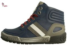 Garvalin Wigan, Sneakers Hautes Garçon, Noir (A Negro/Kaiser), 33 EU