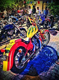 Maldivian Custom Choppers